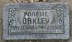 Annette Oakley