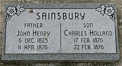 Charles Holland Sainsbury