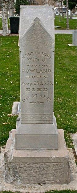 Martha <I>Boot</I> Rowland