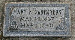 Mary Elizabeth <I>Rowland</I> Santmyers