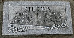 Sarah Elizabeth Dickens <I>Gentry</I> Sturgis