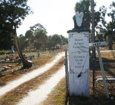 Mount Ararat Cemetery In Daytona Beach