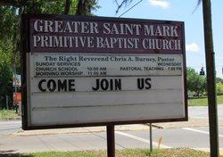 Greater St Mark Primitive Baptist Church Cemetery