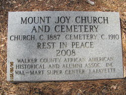 Mount Joy Cemetery