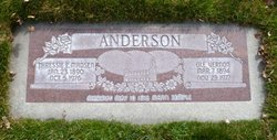 Tressa Elvira <I>Madsen</I> Anderson