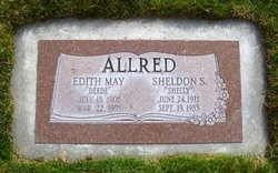 "Edith May ""Deede"" <I>Aldrich</I> Allred"