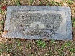 Minnie D <I>Bohnhoff</I> Allen