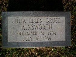 Julia Ellen <I>Bruce</I> Ainsworth