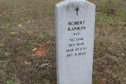 Pvt Robert Rankin