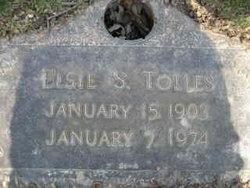 Elsie S <I>Lane</I> Tolles