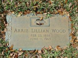Arrie Lillian <I>Engram</I> Wood