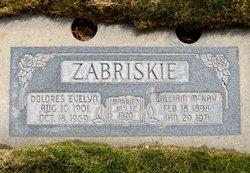 Dolores Evelyn <I>Christensen</I> Zabriskie