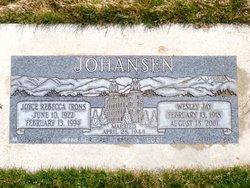 Joyce Rebecca <I>Irons</I> Johansen