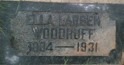 Ella Beatrice <I>Larsen</I> Woodruff