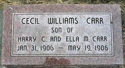 Cecil Williams Carr