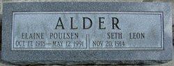 Elaine <I>Poulsen</I> Alder