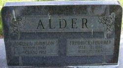 Estella <I>Johnson</I> Alder
