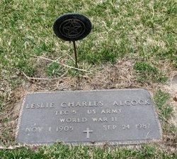 Leslie Charles Alcock