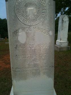 Maurice H. Hoss
