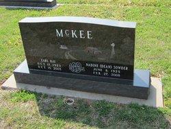 """Nadine """"Dean"""" <I>Sowder</I> McKee"""