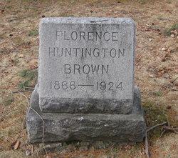 Florence J. <I>Huntington</I> Brown