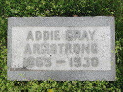 Addie <I>Gray</I> Armstrong