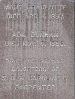 Mary Charlotte Carpenter