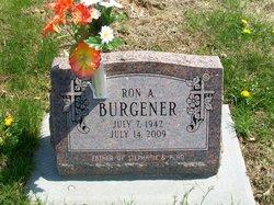 Ronald Alan Burgener