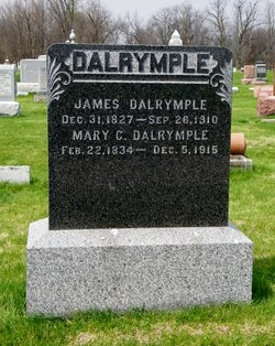 Mary Coleville <I>Saunders</I> Dalrymple