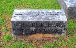 Ruth <I>Tribble</I> Dick