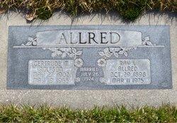 Gertrude M. <I>Rolfson</I> Allred
