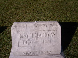 Ivy May <I>Henington</I> Mackey