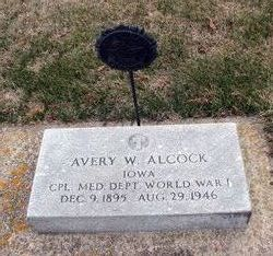 Avery W Alcock