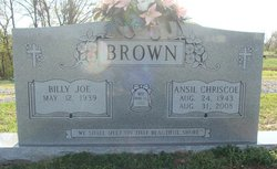 Ansil Darlene <I>Chriscoe</I> Brown