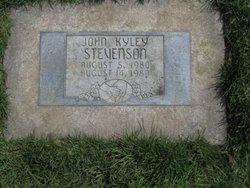 John Kyley Stevenson