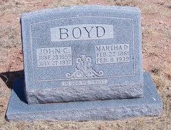 Martha Duncan <I>Booth</I> Boyd