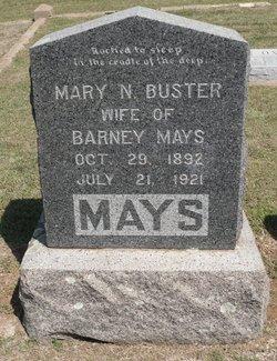 Mary N <I>Buster</I> Mays