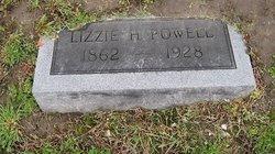 """Elizabeth Hannah """"Lizzie"""" <I>Davis</I> Powell"""