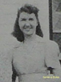 Geneva Jane <I>Byles</I> Cowan