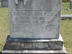 Emma Frances <I>Glass</I> Sugg