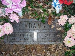 Margarethe M <I>Marx</I> Adams