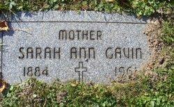 Sarah Ann Gavin