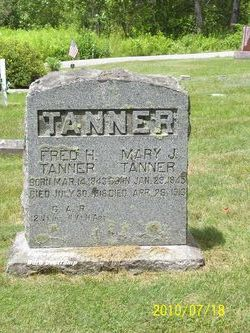 """Frederick H """"Fred"""" Tanner"""