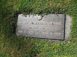 Marie Josephine <I>Britschg</I> Adams