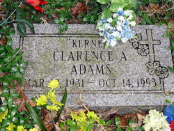 """Clarence A """"Kernel"""" Adams"""