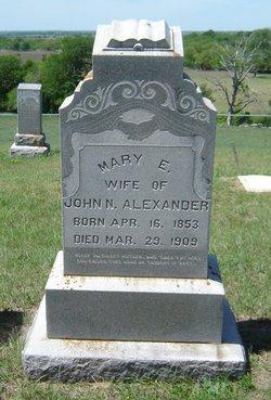 Mary Elizabeth <I>Patterson</I> Alexander