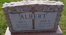 Edith M <I>Wilhelm</I> Albert
