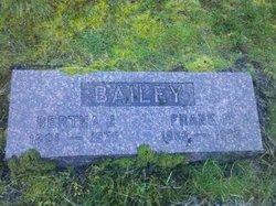 Bertha J <I>Hunger</I> Bailey