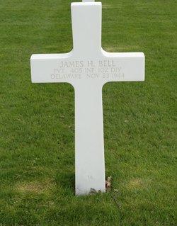 Pvt James Hue Bell