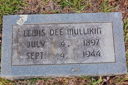 Lewis Dee Mullikin